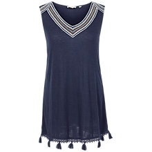Buy Fat Face Ria Tassel Camisole Online at johnlewis.com