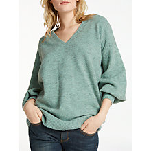 Buy AND/OR Slouchy V-Neck Jumper Online at johnlewis.com