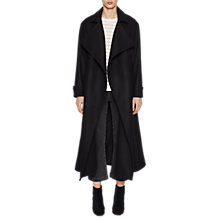 Buy French Connection Platform Felt Coat Online at johnlewis.com