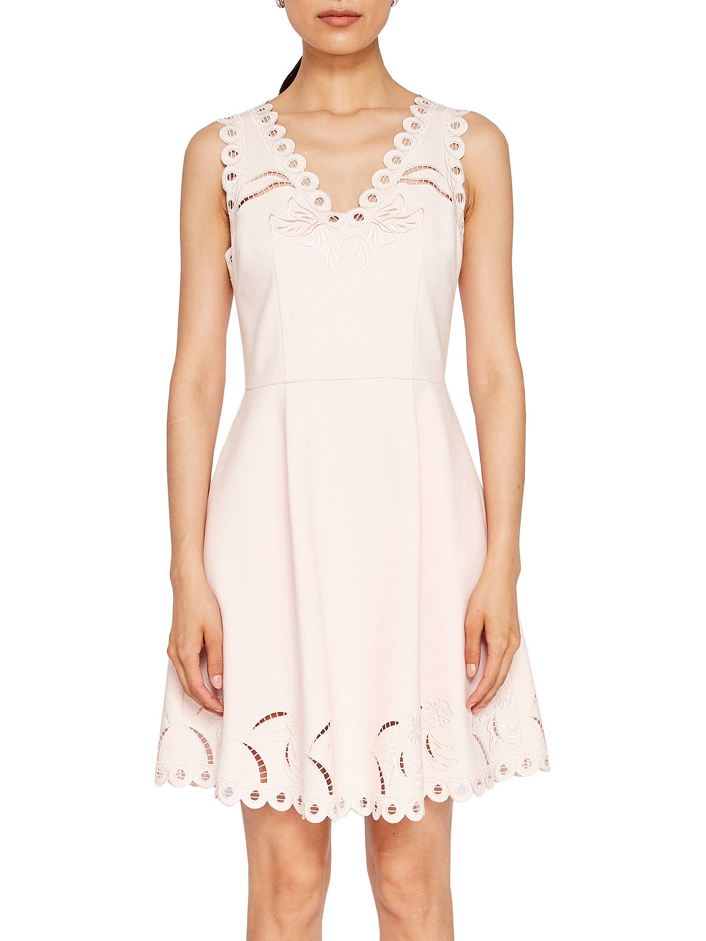 f59ca56d9 Ted Baker Emalise Embroidered Skater Dress