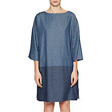 Buy French Connection Ethel Denim Dress, Two-Tone Blue Online at johnlewis.com