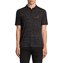 Buy AllSaints Stanley Polo Shirt Online at johnlewis.com