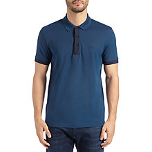 Buy BOSS Green C-Vito Polo Top, Navy Online at johnlewis.com