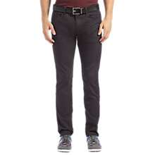 Buy BOSS Green C-Delaware Jeans, Black Online at johnlewis.com