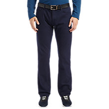 Buy BOSS Green C-Maine Trousers, Navy Online at johnlewis.com