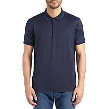 Buy BOSS Green C-Panova Polo Top, Navy Online at johnlewis.com