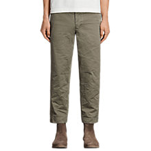 Buy AllSaints Corp Cotton Chinos Online at johnlewis.com