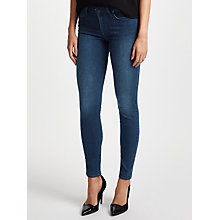 Buy Lee Scarlett Regular Waist Skinny Jeans, Dark Used Blue Online at johnlewis.com