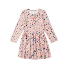 Buy Jigsaw Girls' Acorn Print Jersey Dress, Pink Online at johnlewis.com