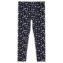 Buy Jigsaw Girls' Acorn Print Leggings, Navy Online at johnlewis.com