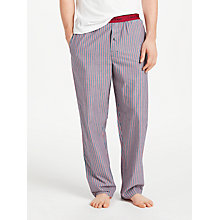Buy Calvin Klein Dylan Stripe Pyjama Bottoms, Blue/Red Online at johnlewis.com