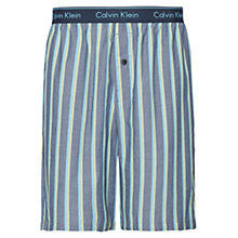 Buy Calvin Klein Boat Stripe Lounge Shorts, Blue Online at johnlewis.com