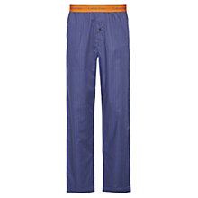 Buy Calvin Klein Strike Through Circles Lounge Pants, Blue Online at johnlewis.com