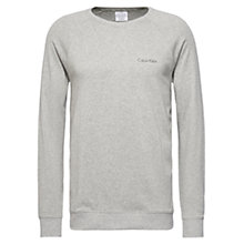 Buy Calvin Klein CK Co Ord Sweatshirt, Grey Online at johnlewis.com