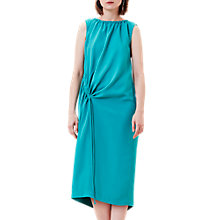 Buy Finery Ruched Summer Chuck On Dress, Cerulian Blue Online at johnlewis.com