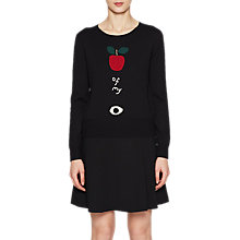 Buy French Connection Apple Of My Eye Jumper, Black Multi Online at johnlewis.com