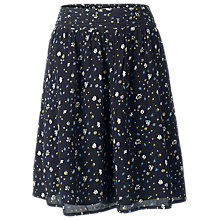 Buy Fat Face India Scattered Geo Skirt, Black/Multi Online at johnlewis.com