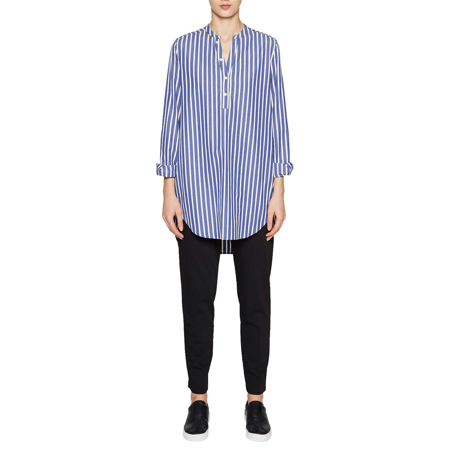 Really Cheap Price Cheap Latest Collections French Connection Cotton Pop Over Shirt Low Price Cheap Price Discount New FcblwfBNe