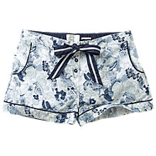 Buy Fat Face Eden Print Shorts, Navy Online at johnlewis.com