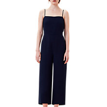 Buy Finery Beatson Culotte Jumpsuit, Navy Online at johnlewis.com