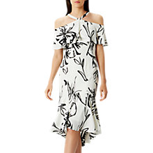 Buy Coast Elouise Print Dress, Monochrome Online at johnlewis.com