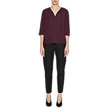 Buy French Connection Classic Tie Neck Top Online at johnlewis.com