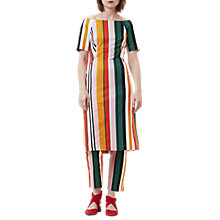 Buy Finery Stripe Off Shoulder Sundress, Multi Online at johnlewis.com