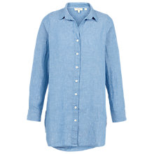 Buy Fat Face Longline Linen Shirt Online at johnlewis.com