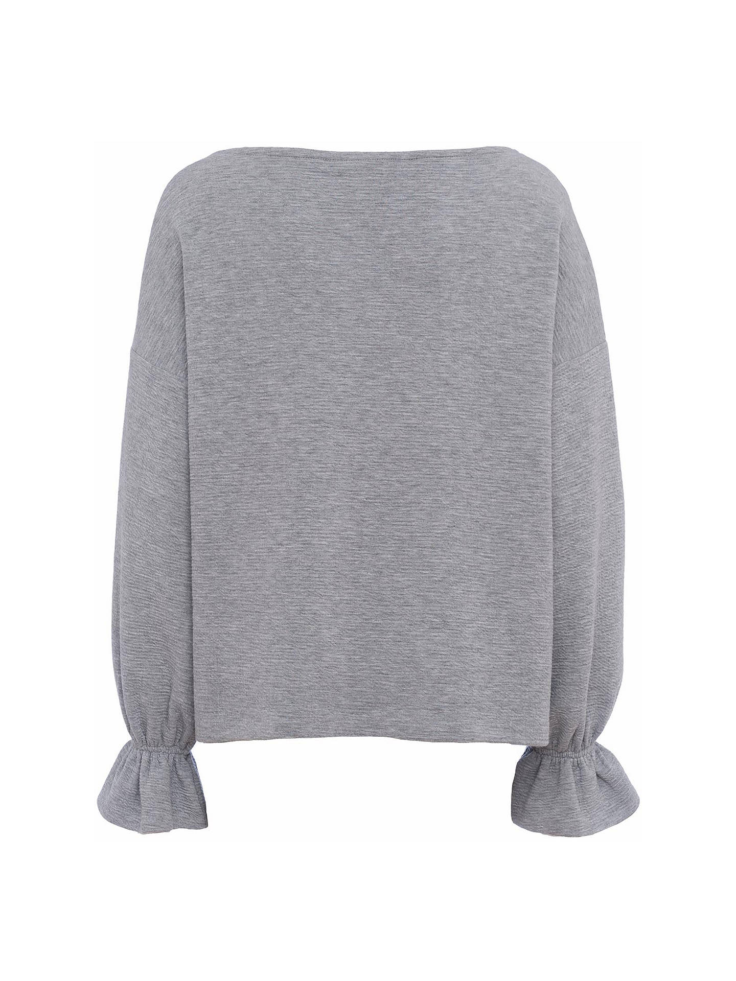 8c03a8eb802 ... Buy French Connection Ellen Textured Jumper, Grey, XS Online at  johnlewis.com