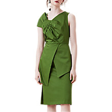 Buy Finery Akers Knotted Sundress, Leaf Green Online at johnlewis.com