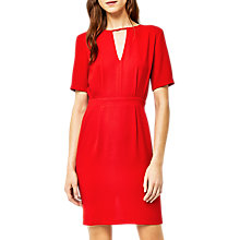 Buy Warehouse V-Front Dress Online at johnlewis.com