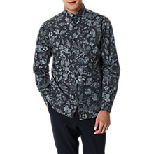 Buy Selected Homme Shxonetig Shirt, Black Online at johnlewis.com
