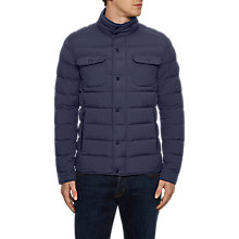 Buy Hackett London Padded Jacket, Navy Online at johnlewis.com
