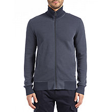 Buy BOSS Orange Zteel Full Zip Jersey Top, Dark Blue Online at johnlewis.com