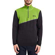 Buy BOSS Green Zymor Pro Jumper, Charcoal Online at johnlewis.com