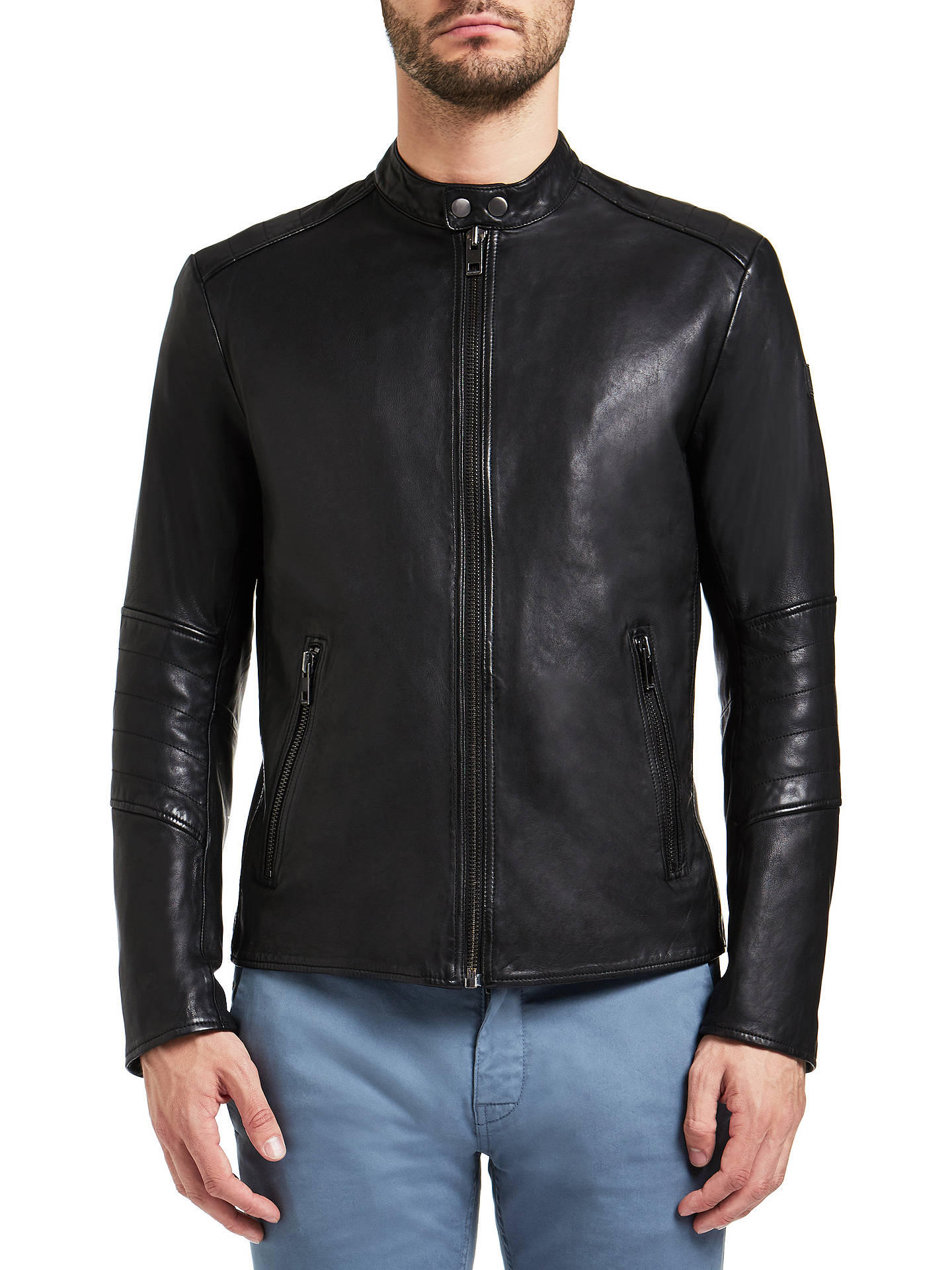 ed396bbcf23 Buy BOSS Orange by HUGO BOSS Jeeper Biker Jacket