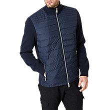 Buy Selected Homme Knitted Jacket, Dark Sapphire Online at johnlewis.com