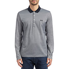 Buy BOSS Green C-Pirona Polo Top, Medium Grey Online at johnlewis.com