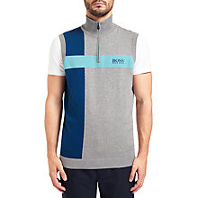 Buy BOSS Green Zagi Pro Funnel Neck Tank Top, Multi/Grey Online at johnlewis.com