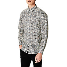 Buy Selected Homme Billy Shirt, Black Online at johnlewis.com