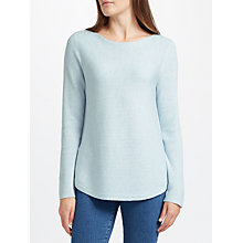Buy John Lewis Rib Stitch Boat Neck Jumper Online at johnlewis.com