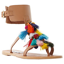 Buy Steve Madden Colorful Tassel Sandals, Multi Online at johnlewis.com
