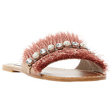 Buy Steve Madden Isabella Embellished Slider Sandals Online at johnlewis.com