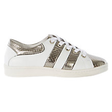Buy Karen Millen Collection Trainers, White Online at johnlewis.com
