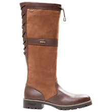 Buy Dubarry Glanmire Knee High Boots, Walnut Online at johnlewis.com