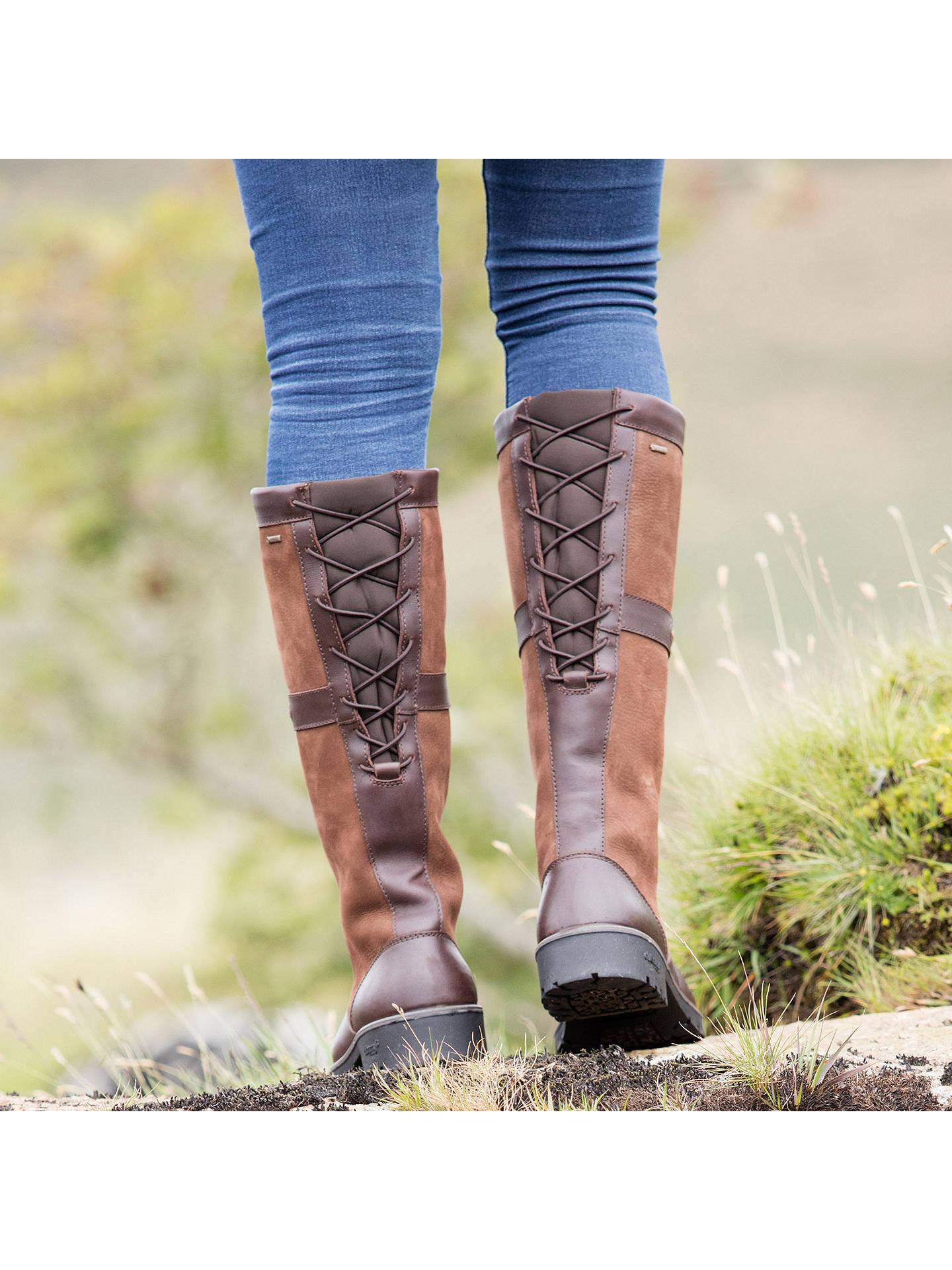 90e1f378e92 Dubarry Glanmire Knee High Boots, Walnut at John Lewis & Partners