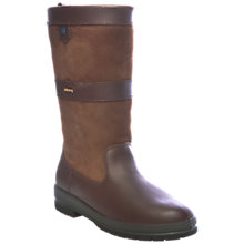 Buy Dubarry Kildare Calf Boots, Walnut Online at johnlewis.com