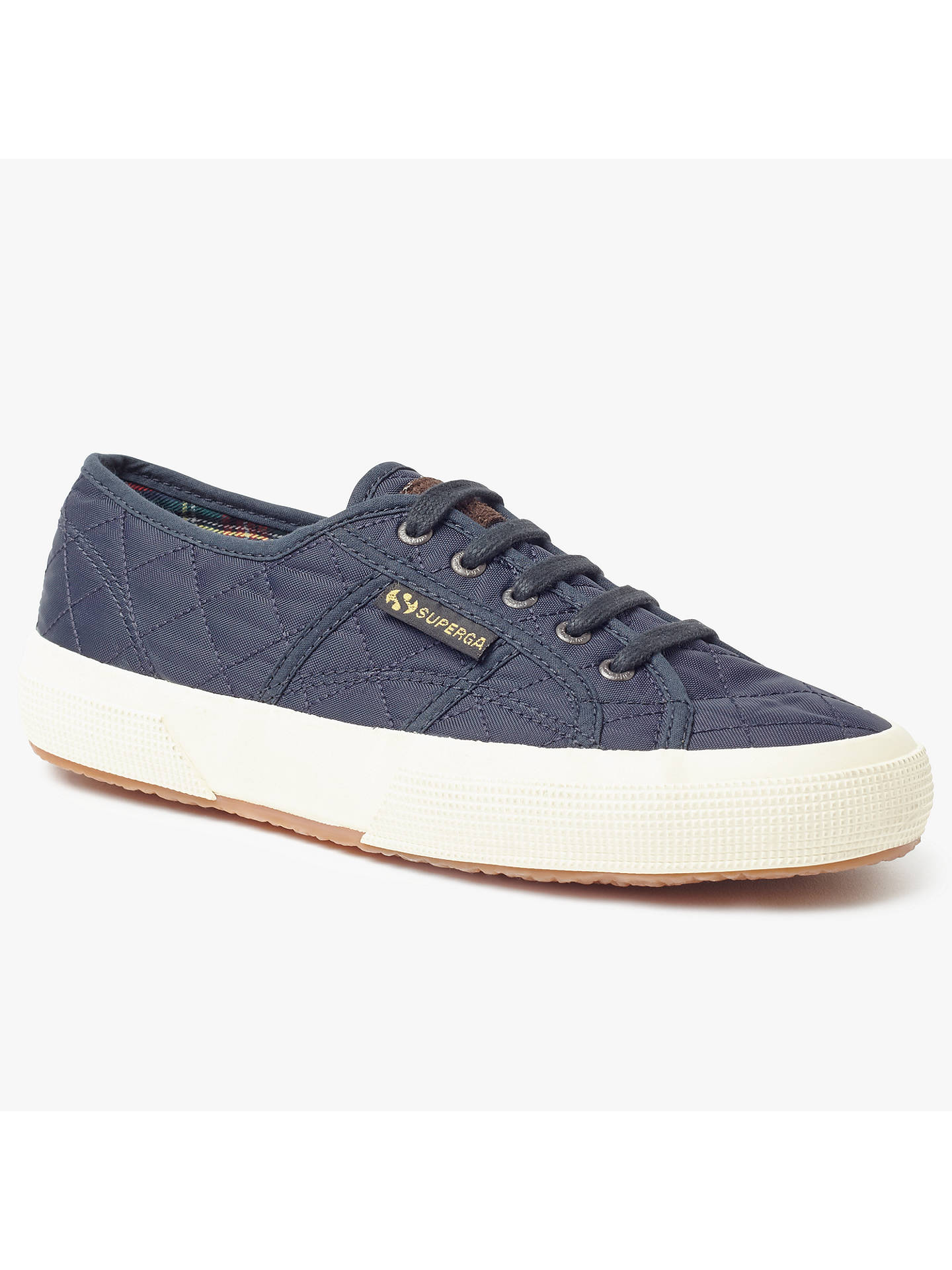 ce2dba23206b Buy Superga 2750 Quilted Lace Up Plimsolls