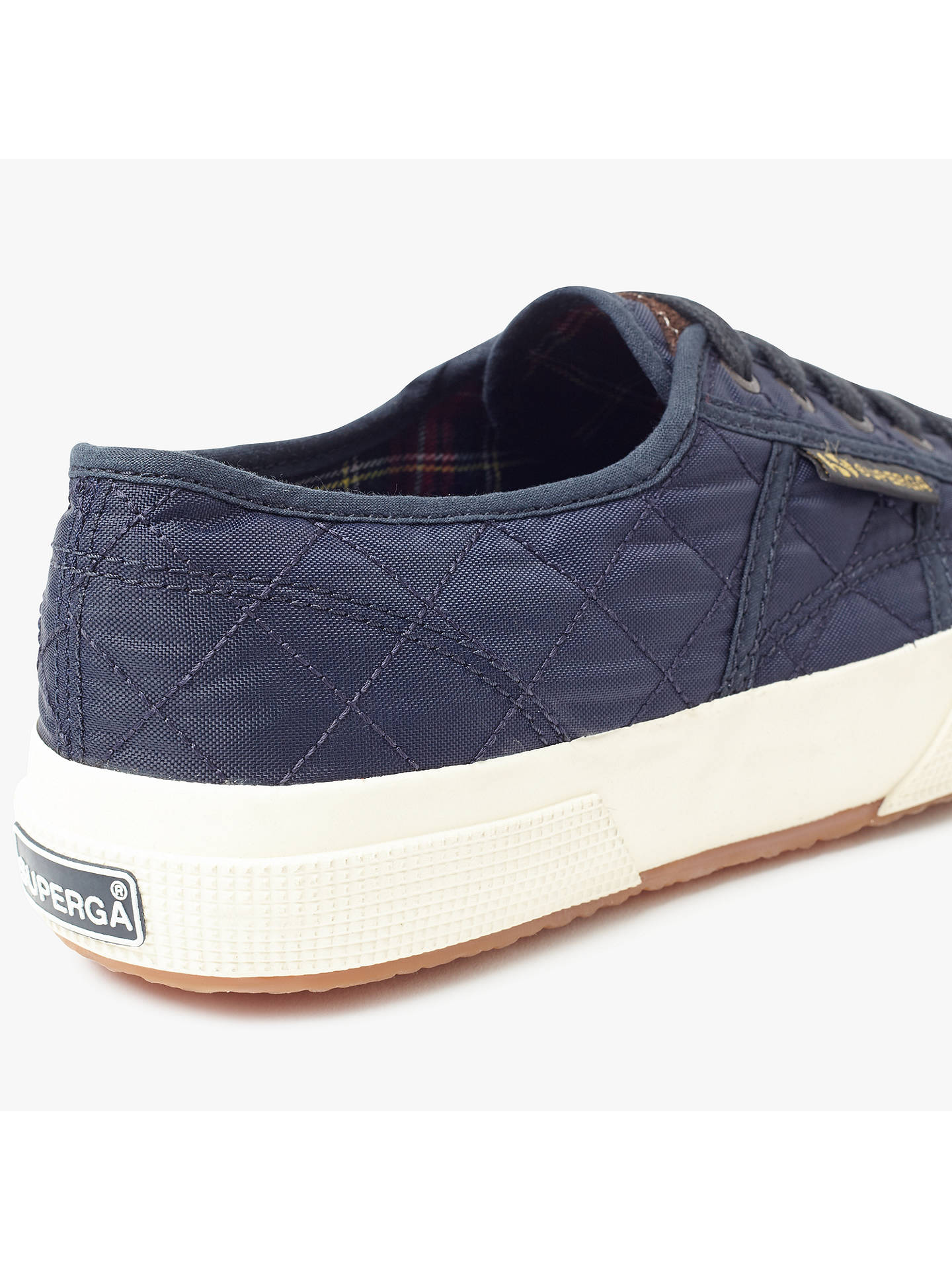 939e09cb68a246 ... Buy Superga 2750 Quilted Lace Up Plimsolls