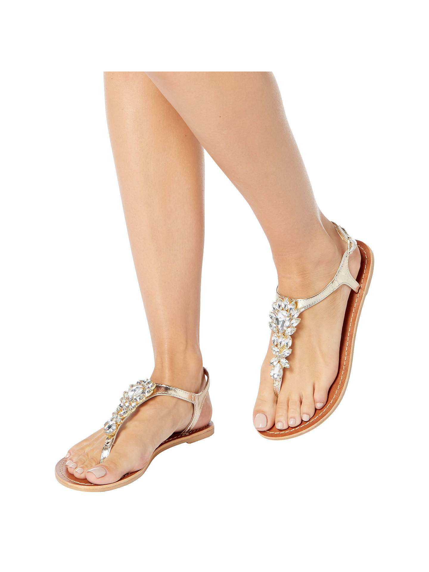 d37b792c7e4c8 ... Buy Steve Madden Jackie Toe Post Embellished Sandals